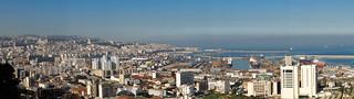 Soleil d'hiver sur la baie d'Alger
