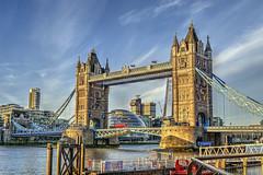Tower Bridge - London. (MarkWoods2) Tags: london towerbridge famousbridges centrallondon towerhamlets stkatherinespier