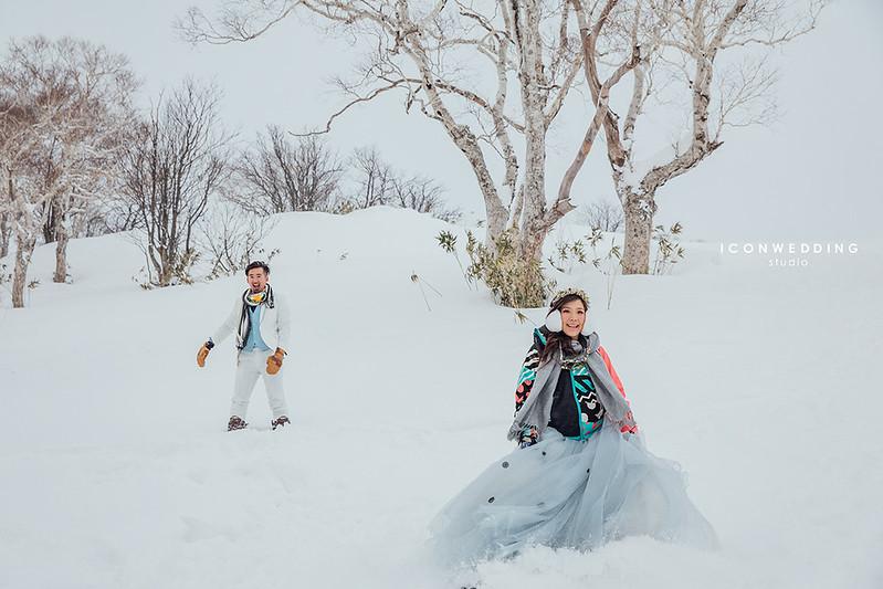 北海道婚紗,小樽運河,Niseko/二世谷比羅夫滑雪場,支笏湖,北海道街景