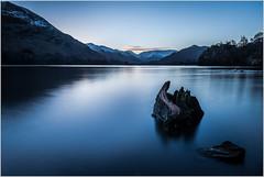 Ullswater Dawn (MarkLG1973) Tags: 1635mmf40 bluehour bluesky dawn lakedistrictnationalpark sunrise ullswater beautiful d600 england landscape nature nikon rock tranquility uk water mossdale unitedkingdom gb