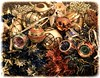 Christmas is over 6/365 (radleyfreak) Tags: ornaments baubles colour glitter tinsel christmas sequins decorations red blue green gold silver