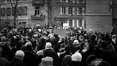 Rassemblement Je suis Charlie 2015 (Sylvie Vogt) Tags: hommage jesuischarlie colmar noiretblanc blackandwhite ensemble unis coeur heart