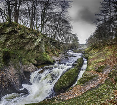The Salmon Loup (Aimless Alliterations) Tags: uk scotland angus angusandmearns theburn edzell thesalmonloup fishladder northesk glenesk river highlands