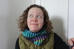 Mermaid Bikecowl (CaitlinD) Tags: ravelry