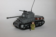 M4a3e8 Sherman (Carpet Lego's design) (brick_builder7) Tags: lego wwii world war two worldwar wartwo worldwartwo worldwar2 2 american allies sherman m4a3e8 easyeight easy8 easy 8 eight m4a3e8sherman tank armored army vehicle tanker grey bricks brickarms carpet carpetlego gun