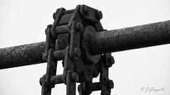 Óxido (J.Gargallo) Tags: graodecastellón castellón castellóndelaplana comunidadvalenciana españa cadena eje maquinaria engranaje canon canon450d canonefs18200 eos eos450d 450d blancoynegro blackwhite blackandwhite blanconegro bw byn monocromático