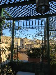 Medina from roof terrace, Riad La Maison Verte, Fez, Morocco (Paul McClure DC) Tags: fez morocco fès almaghrib dec2016 medina feselbali maroc historic architecture