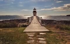 Marshall Point - The Forrest Gump Light (NYRBlue94) Tags: marshall point lighthouse light forrest gump bridge maine hdr ocean atlantic run new england newengland north east