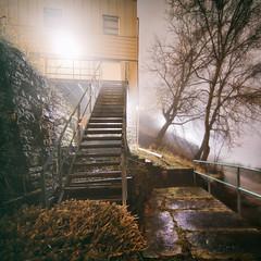 0144 (1nfinite) Tags: city stair stairs square wet urban racine wisconsin