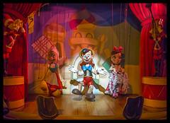 Pinocchio (Michael Besant) Tags: pinocchiodaringjourney disneyland california darkride