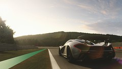 McLaren P1 (polyneutron) Tags: car photography mclaren p1 silver supercar forza motorsport fm6 forza6 apex pc photomode motion lensflare