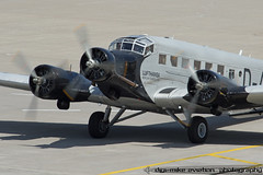 D-CDLH - Junkers Ju-52/3m - Lufthansa (MikeSierraPhotography) Tags: plane germany air cologne daqui junkers tanteju dcdlh ju523m cgneddk canoneos7dmarkii