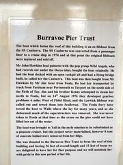 Burravoe Pier Trust (nz_willowherb) Tags: island see scotland pier tour visit trust yell shetland to go burravoe