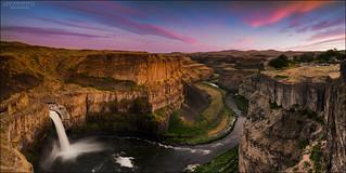 Palouse Falls Sunset