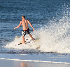 Skimboarding (160/365) (aka Buddy) Tags: ocean beach spring nj atlantic og skimboarding sebright day160 2015 day160365 365the2015edition 3652015 9jun15