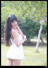 nEO_IMG_DP1U1879 (c0466art) Tags: light portrait white beautiful female canon nice eyes asia pretty skin sweet outdoor gorgeous figure taipei charming activity 1dx showgir c0466art