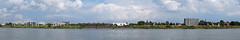 Monheim am Rhein - 6:1 Panorama (KL57Foto) Tags: panorama river germany deutschland town am village stadt nrw fluss rhein strom nordrheinwestfalen rhineland monheim monheimamrhein stadtmonheim kl57foto stadtmonheimamrhein
