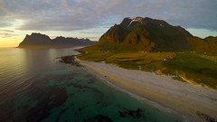 Uttakleiv, Lofoten (Rune Lind) Tags: travel mountain beach norway landscape sunday times northern lofoten nordnorge utakleiv uttakleiv vesvgy