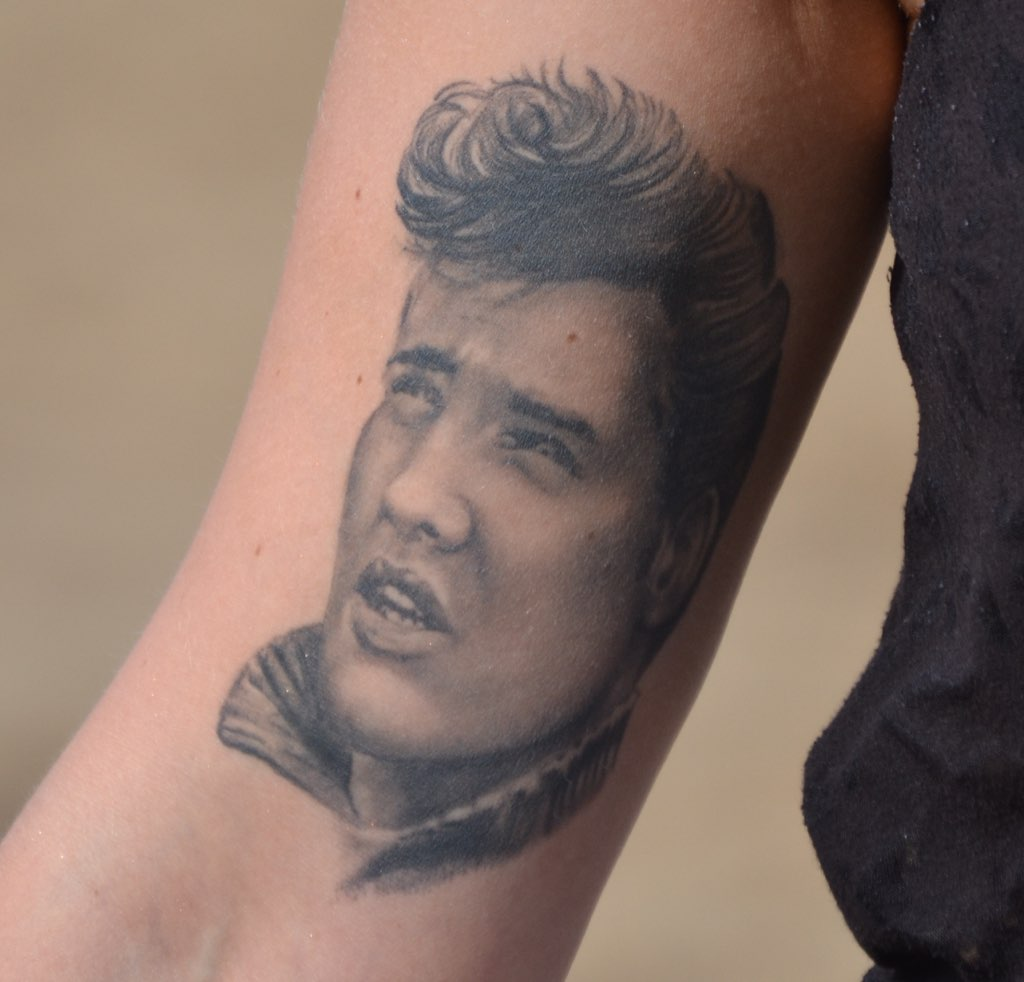 The world 39 s best photos of presley and tattoo flickr for Elvis presley tattoos