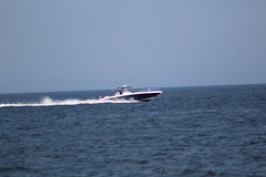 IMG_2126 (Rated R Superstar!) Tags: ocean new sunset vacation moon beach water plane boat sandy sunsets jersey hook reflextion 72815