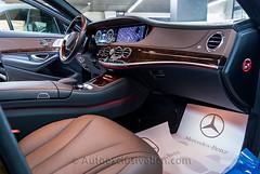 Mercedes - Benz Clase S 350 BT Largo ( w222 ) - Negro Obsidiana - Piel Marrón (Auto Exclusive BCN) Tags: barcelona auto mercedes benz s tienda 350 largo bt clase exclusive piel marrón concesionario w222 autoexclusivebcn autoexclusive techopanorámico