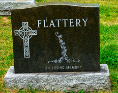 THEY WERE CORRECT,  IT GETS YOU NOWHERE ..la flatterie, vous mnera nulle part. (Bob (sideshow015)) Tags: stone fun sad pierre cemetary laugh marble monuments marbre drole