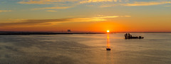 Sunrise over the Indian river (Tedj1939) Tags: sunrise nature seascapes sun morning dawn clouds sky river predawn indianriver