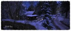 Twilight Moon (☀Vita Camino☀) Tags: secondlife moon twilight vita camino gardens winter slur best places visit snow seasons