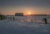 RURAL SUNRISE (Pat Newton Photography) Tags: sunrise wintersunrise nature country canon6d canada
