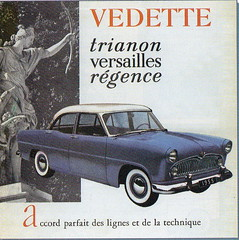 Ford Vedette Trianon, Versailles and Regence (1954) (andreboeni) Tags: classic french car automobile cars automobiles voitures autos automobili classique francais voiture retro auto oldtimer klassik classico classica publicity advert advertisement simca ford saf vedette trianon regence versailles fordfrance