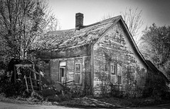 Rural Decay (will139) Tags: decay ruraldecay oldhouse decayinghouse moscowindiana ruralindiana blackandwhite monochrome