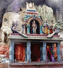 Temple Replica (mikecogh) Tags: malaysia hinduism batucaves iconography belief altar stone figures icons temple replica