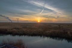 Abbotts Meadow Sunset (seanbeebe_photo) Tags: salem salemcounty abbottsmeadow nj newjersey marsh sunset