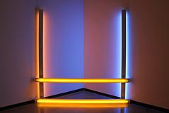 Untitled (to Donna) II, by Dan Flavin (JB by the Sea) Tags: portland oregon multnomahcounty december2016 portlandartmuseum danflavin fluorescentlight