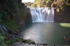 [Shifen Waterfall] (miltonsun) Tags: waterfall shifenwaterfall keelungriver shifen newtaipeicity taiwan landscape mountains clouds sky scenery outdoor river 十分瀑布 基隆河 十分