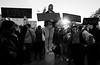 Donald Trump Protest - Manhattan - November 2016 (A Screaming Comes Across the Sky) Tags: manhattan nikon d800 d800e tamron 2470 f28 donald trump protest nyc new york city newyork outdoor blackandwhite monochrome people text groupshot