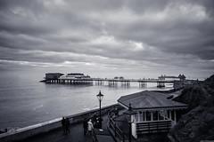 Cromer (aljones27) Tags: bw monochrome blackandwhite cromer norfolk sea seaside coast coastal coastline beach pier wave waves