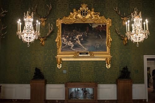La salle des soleils au Château de Chambord