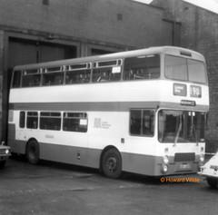 GMT 1438 (HDB 438V) (SelmerOrSelnec) Tags: gmt dennis dominator northerncounties hdb438v cheetham manchester boylestreet museumoftransport gmts springtransportfestival bus monochromatic