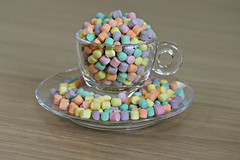 2017 Mini Florals (dominotic) Tags: miniflorals food lolly sweets candy 2017 confectionery sydney australia glassillycoffeecup