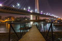 Shiny night (Master Iksi) Tags: beograd belgrade srbija serbia canon700d bridge lights river night romantic scene longexposure