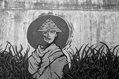 Kundasang, Borneo, Malaysia (bm^) Tags: borneo malaysia travel kundasang sabah maleisië streetart graffiti distagont228 distagon282zf nikon d700 bw blackandwhite black white blackwhitephotos zf2 zeiss carl nikond700 zwar twit zwartwit reis