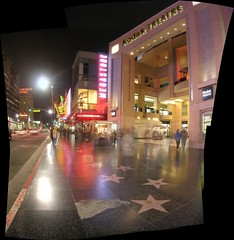 Kodak Theatre (eastick_east) Tags: autostitch panorama theatre kodak hollywood walkoffame oscars academyawards kodaktheatre latrip2006