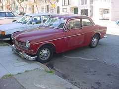 122 (rat_fink) Tags: red 120 volvo amazon 1966 coupe 122 122s