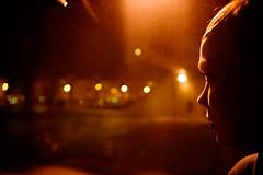 134 (Said Karlsson) Tags: portrait orange woman bus face night alone swedish lamps said karlsson saidkarlsson bokehsoniceseptember bokehsoniceseptember15