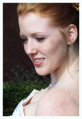 Melody (TexasValerie) Tags: wedding portrait woman outdoors bride braces redhead melody freckles bridal