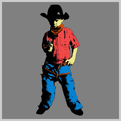 popart cowboy (pixelpercy) Tags: blue boy red wild west art andy hat yellow photoshop pose fire grey cow us bowie google cowboy flickr gun shoot arty shot image photos shots gray elvis images pop 45 popart photographs pixel pistol western warhol shooter pow presley pixels gunner colt velvetunderground corral iggypop gunfight trigger flicker percy sioux slinger simpsoms