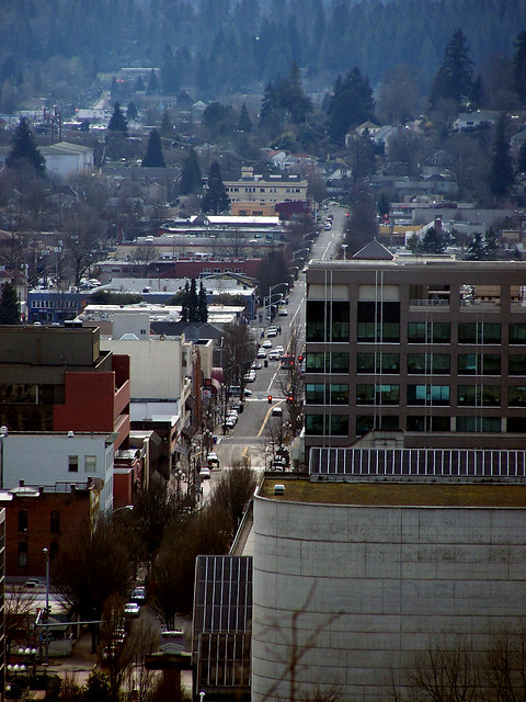 Looking over Eugene 5