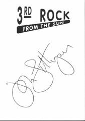 John Lithgow Autographed card (tomsautographs) Tags: sun rock john autograph card third lithgow 3rdrockfromthesun