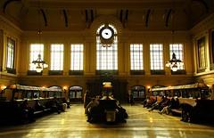 Hoboken, NJ Train Station - by Bob Jagendorf